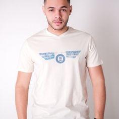 T-Shirt Okizm Beige Devise 19.90€