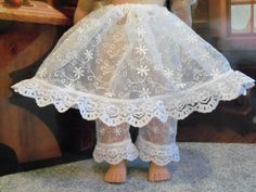 Cecile, Marie-Grace Special Occasion Lacy Pantalettes, Hoop Slip / Clothes for  American Girl Doll