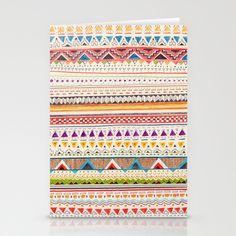 Pattern Stationery Cards by Sandra Dieckmann - $12.00
