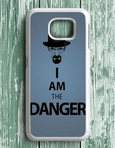 Breaking Bad I Am The Danger Samsung Galaxy S7 Edge Case