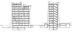 Image 13 of 15 from gallery of Siamese Towers / Alejandro Aravena. Sections