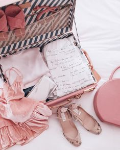 All things pink- Julia Engel packing tips