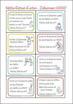 50 best Schule Matematik images on Pinterest | Primary school, Baby ...