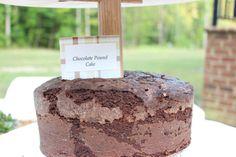 Chocolate Pound Cake with Tanzanian Chocolate Nibs from Askinosie Chocolate.