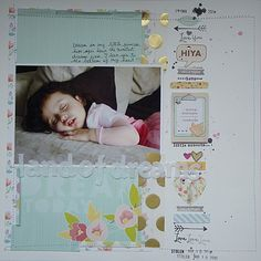 Sweet page for a sweet princess