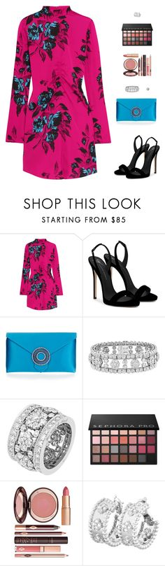 """""""Untitled #5266"""" by mdmsb on Polyvore featuring McQ by Alexander McQueen, Giuseppe Zanotti, Wilbur & Gussie, Van Cleef & Arpels, Sephora Collection and Charlotte Tilbury"""