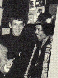 Spock  Jimi Hendrix.
