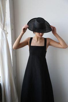 Caron Callahan Flora Dress Black