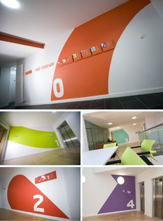 INTO University of East Anglia way-finding signage by Richard Wise, via Behance