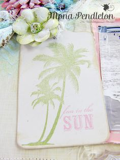 My Island Stamps from Waltzingmouse Stamps, summer stamps