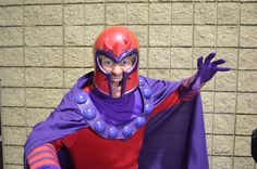 Magneto Cosplay by Trinity All-Stars