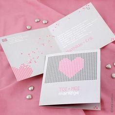 Faire-part Mariage Love.com E21A