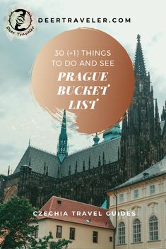 Prague Travel Bucket List - 30 Things To Do and See in the Czech capital. All the important attractions, fun and free things to do, see and eat. Europe Travel Guide, Europe Destinations, Budget Travel, Travel Guides, Travel Advice, Visit Prague, Beautiful Buildings, Modern Buildings, Modern Architecture