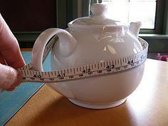 """Tea Cosy Tutorial. """"Would you like a tea cosy for your pepper pot?"""""""
