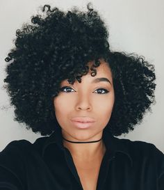 Hair Care Tips. Suggestions for excellent looking hair. Your hair is just what can certainly define you as a person. To many men and women it is usually vital to have a great hair style. Natural Hair Cuts, Natural Curls, Natural Hair Styles, Love Hair, Big Hair, Pelo Afro, Natural Hair Inspiration, Afro Hairstyles, Updo Hairstyle