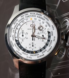 Girard Perregaux Traveller WW.TC World Timer Watch Hands On Review by @aBlogtoWatch