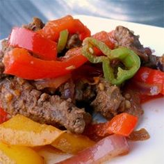 Spicy Beef Fajitas Allrecipes Com