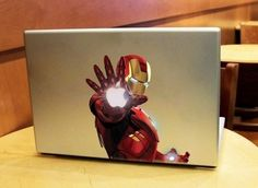 I'm thinking about customizing my MacBook with an Iron Man skin.  :-)