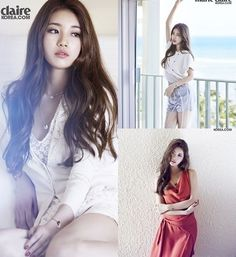 Miss A member Bae Suzy in Marie Claire