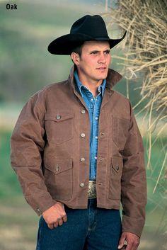 American Made Men's 311 Rangewax Mesquite Jacket $180.00 http://www.schaefer-ranchwear.com/schaefer-store/mens-ranchwear/mens-outerwear/rangewax-mesquite-jacket-6.html
