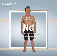 Te presentamos al Nadador Paralímpico y campeón mundial en Glasgow 2015 y Montreal 2013, Nelson Crispín.  #TeamSpeedoCol