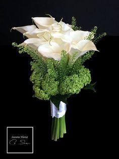 Simple Cala Lilies bouquet