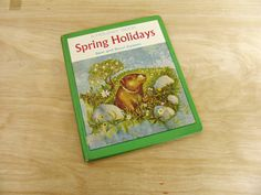 Vintage Book Spring Holidays by Sam and Beryl Epstein 1964 Holiday Book Spring Book Mid Century Book Arbor Day Groundhog Day May Day by HipCatRetroVintage on Etsy