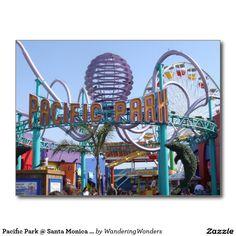 Pacific Park @ Santa Monica Pier Postcard