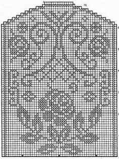 Only Crochet Patterns Archives - Beautiful Crochet Patterns and Knitting Patterns Filet Crochet Charts, Crochet Diagram, Crochet Motif, Crochet Doilies, Crochet Stitches, Doily Patterns, Knitting Patterns, Crochet Patterns, Crochet Table Runner