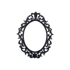 PSD Detail | Ornate Pewter Frame | Official PSDs ❤ liked on Polyvore