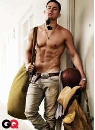 I really never thought Channing was a babe...until about..NOW haha