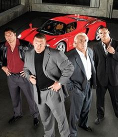 Evolution: The Animal Dave Batista,  The Game Triple H, The Nature Boy Rick Flair and The Legend Killer Randy Orton.