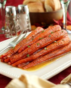 Get the recipe: cinnamon butter baked carrots Image Source: Becky Tarala / POPSUGAR Food Easy Thanksgiving Recipes, Holiday Recipes, Thanksgiving Menu, Holiday Meals, Easter Recipes, Vegetarian Thanksgiving, Vegetarian Meals, Carrot Recipes, Vegetable Recipes