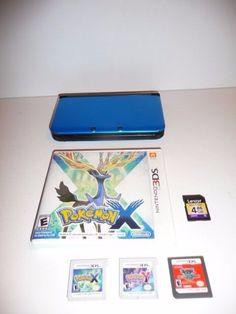 Nintendo 3ds XL Lot  Pokemon X  Pokemon Y Yu-Gi-Uh!  World Championship 2008 #Nintendo