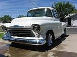 1955 Chevy Stepside Truck - True Chevy Stepside, Chevy Pickups, Chevy Pickup Trucks, 1955 Chevy, Hot Rods, Box, Snare Drum