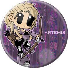Chibi Artemis by Cazuuki.deviantart.com on @deviantART