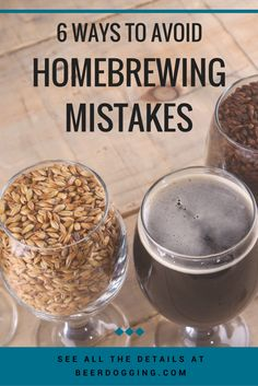 6 Ways to Avoid Homebrewing Mistakes