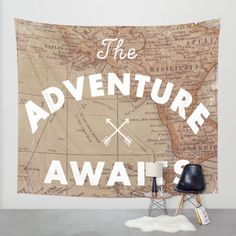 Buy Adventure Awaits Wall Tapestry by Zach Terrell. Worldwide shipping available at Society6.com. Just one of millions of high quality products available.