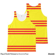 Flag of South Vietnam All-Over Print Tank Top