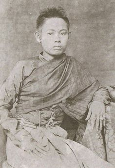 Princess Pakkavadee of Thailand (1 April 1855 - 13 September 1940), daughter of king Pinkhao.