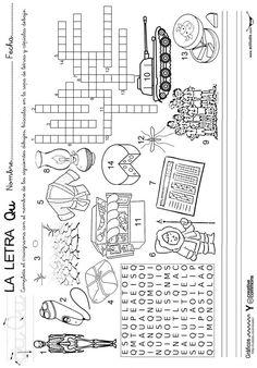 Spanish Class, Kids Prints, Homeschool, Letters, Teaching, Activities, Secondary School, Preschool Alphabet Activities, Preschool Writing