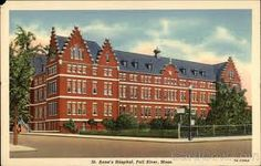 Anne's Hospital Fall River, MA job in the main kitchen washing pots and pans in 1969 Local History, Family History, Old Pictures, Old Photos, Fall River Massachusetts, River I, New Bedford, Vintage Fall, Somerset