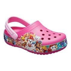 23502776a4a5 Children s Crocs FunLab Paw Patrol Band Clog - Fuchsia Clogs