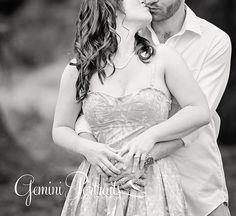 couples photo engagement session