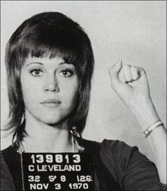My military dad hated her.....Jane Fonda arrested in 1970