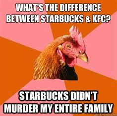 the anti joke chicken.