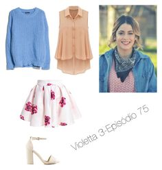 """Sem título #28"" by emiliediasm ❤ liked on Polyvore featuring MANGO, Nly Shoes, women's clothing, women, female, woman, misses and juniors"