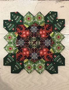 Here is the last of the blocks Dawn and I made for celebration of Lucy Boston's. Cross Quilt, Boston, I Love Lucy, English Paper Piecing, Mug Rugs, Red Fabric, Quilting Tips, Quilt Blocks, Quilt Patterns