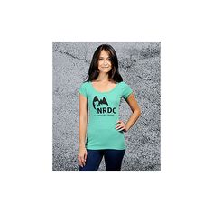 Nrdc Tee | Threads for Thought Official Store ($28) via Polyvore