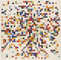 Ellsworth Kelly, Spectrum Colors Arranged By Chance II, 1951
